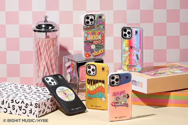 CASETiFY and BTS Announce a New Collection of Dynamite-Inspired Accessories