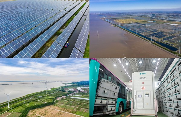 Discover the development of the new power system in the Yangtze River Delta, explore China's actions in green and carbon reduction