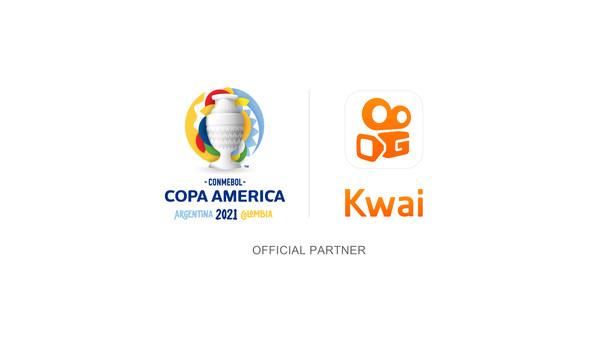 Kwai, 소셜 네트워크 역사상 최초로 CONMEBOL 코파 아메리카 컵 후원