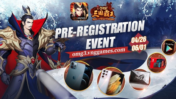 The pre-registration event starts from Apr-26 to Jun-01