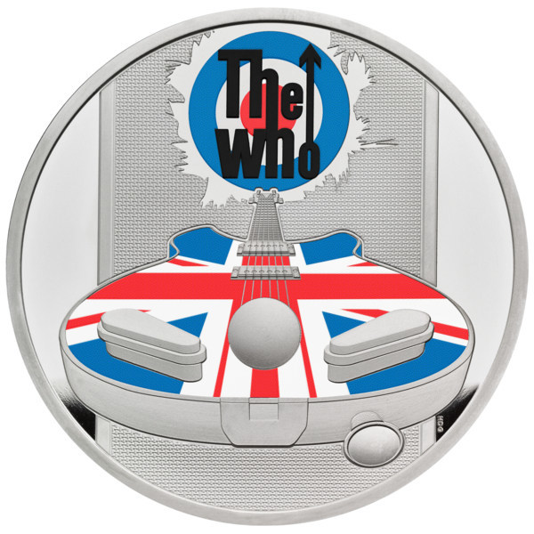 皇家铸币厂推出The Who乐队记念币