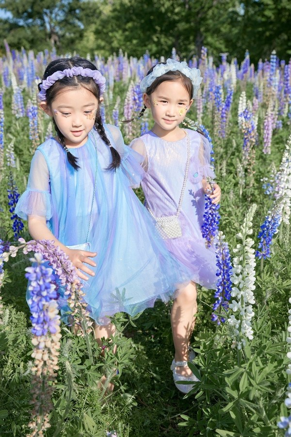 MQD童装2021年夏季连衣裙