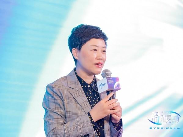 辉瑞生物制药集团中国区肿瘤及罕见病业务总经理李进晖致辞