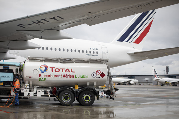 Air France-KLM, Total, Groupe ADP and Airbus Join Forces carried out The First Long-Haul Flight Powered By Sustainable Aviation Fuel Produced in France
