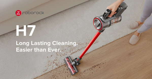Roborock Continues Expansion Into Handheld Vacuum Segment With New H7