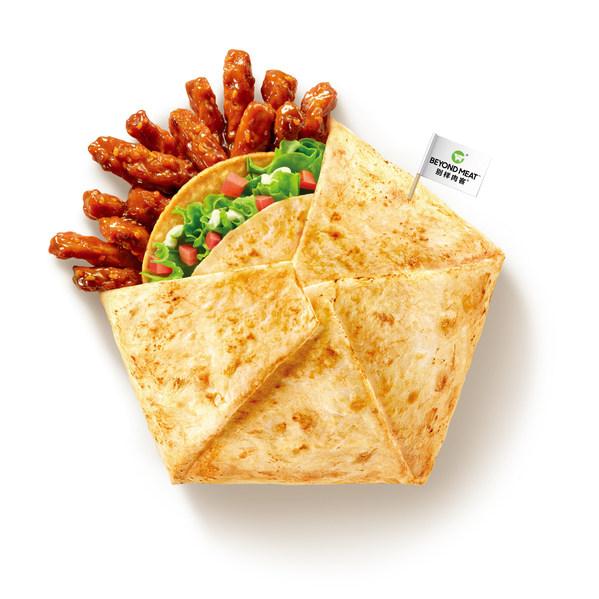 别样肉客®携手肯德基中国推出美味植世代川辣嫩牛五方