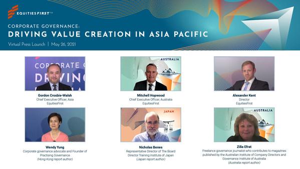 EquitiesFirst™, 아시아태평양 기업지배구조 이니셔티브 출범