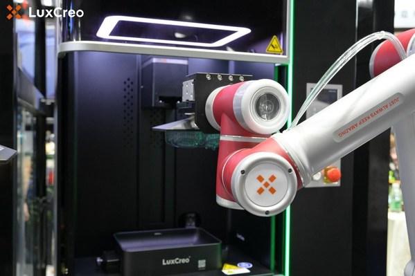 LuxCreo机器人搭配Lux 3打印机进行现场操作