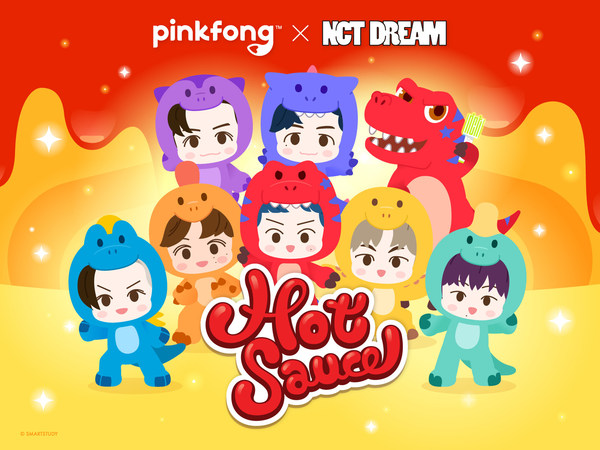 Pinkfong Releases Official Animated Music Video for NCT DREAM's 'Hot Sauce'