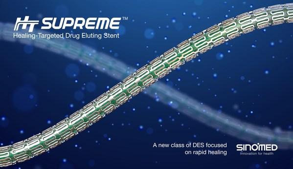SINOMED、HT Supreme DESが病変の複雑さに関わらず、市場の先行品と同等の性能を持つと発表
