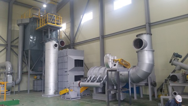 Secured CSC waste treatment technology from Kinava to handle the increased waste volume of the COVID 19 era.