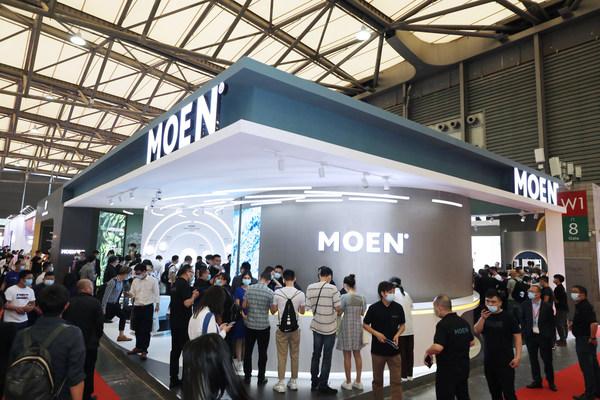 2021中国国际厨卫展沪上开幕,摩恩携全品类产品精彩亮相