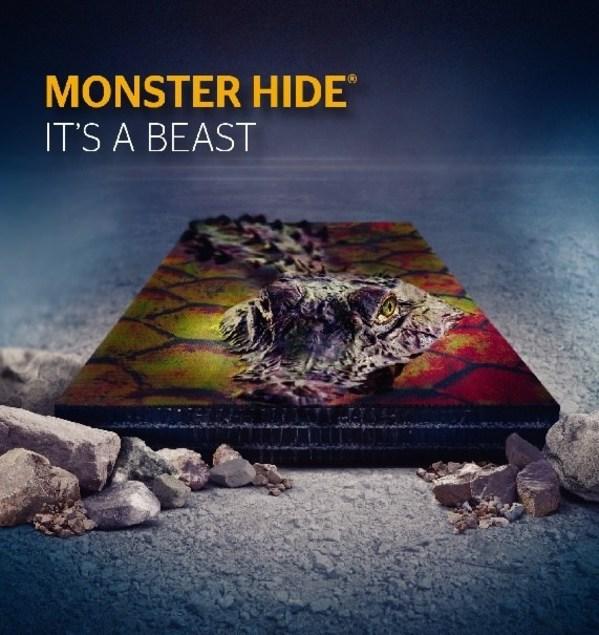 具备极出色抗冲击性的Monster Hide胶料