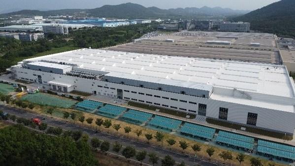 舍弗勒南京公司4号厂房外景图
