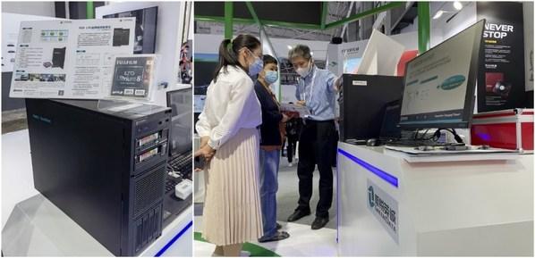 富士胶片(中国)与新锐英诚在2021数博会带来TOD LTO磁带离线检测仪