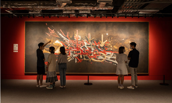 """""""Calligraphy Rhapsody - Retrospective Exhibition of Georges Mathieu"""""""
