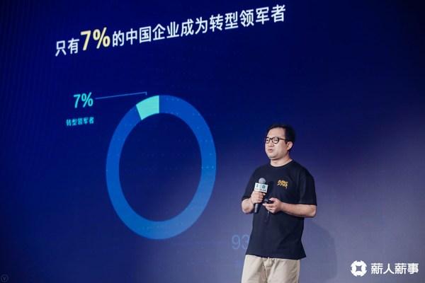 中国企业转型成为领军者的企业只有7%