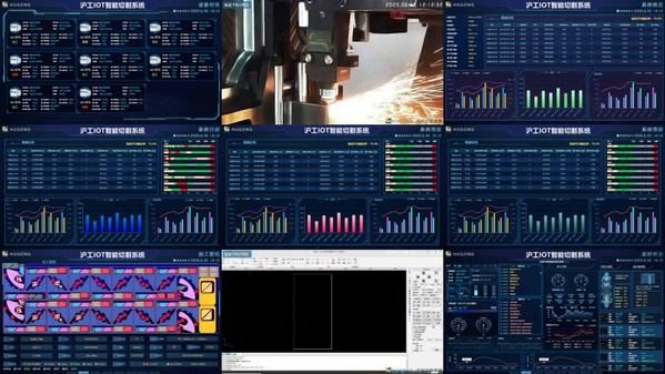 上海沪工IOT智能切割系统