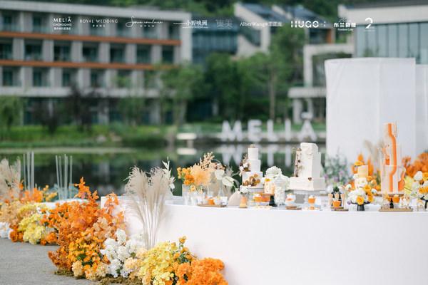 重庆美利亚酒店:将西班牙式服务美学融入雾都山水 打造浪漫婚礼