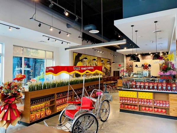 Traditional Vietnamese Trishaw in store, an attraction to all customers who visits the store.