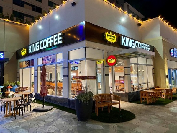 King Coffee First Store in United States Situated In Anaheim California