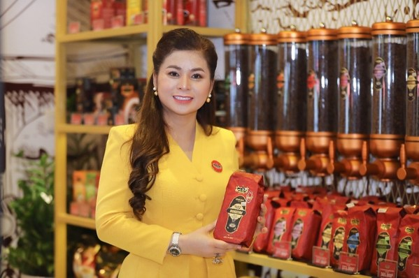 Madame Le Hoang Diep Thao, Founder & CEO of TNI KING COFFEE