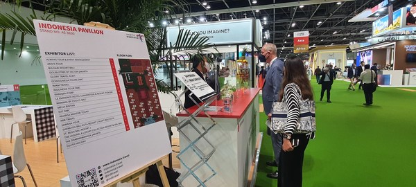 Indonesian Pavilion at the Arabian Travel Market (ATM) Dubai 2021