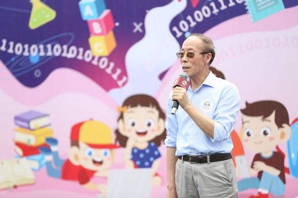 中國扶貧基金會理事長鄭文凱發言