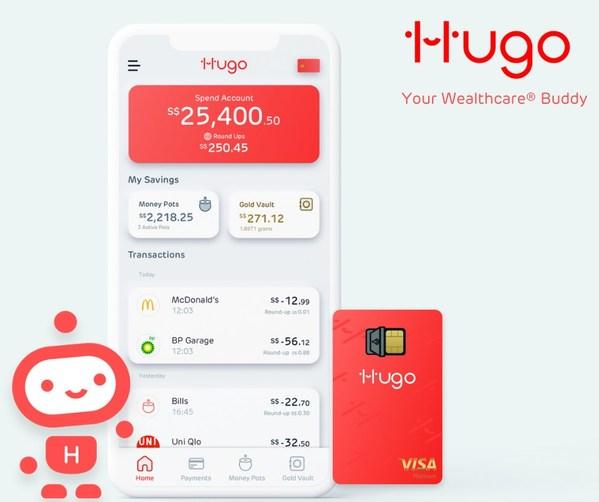 Hugo Save - Singapore's first Wealthcare® app