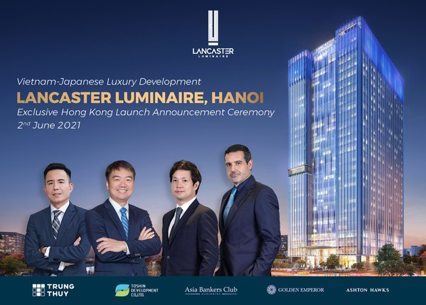 From the Left: Mr. Nguyen Manh Tien (Director – Marketing & Sales of Trung Thuy Group), Mr. Kingston Lai (Founder & CEO of Asia Bankers Club), Mr. Nguyen Trung Tin (CEO of Trung Thuy Group) and Mr. Bernad Lillo Vicente (Deputy General Director of Trung Thuy Group)