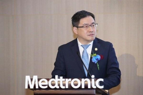美敦力全球高级副总裁及大中华区总裁顾宇韶先生致辞