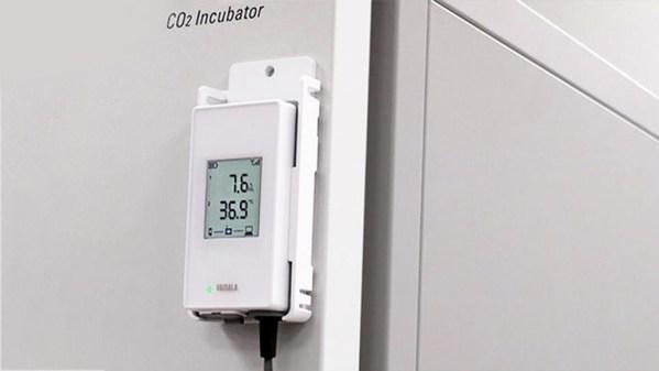 维萨拉通过无线二氧化碳测量解决方案简化培养箱监测