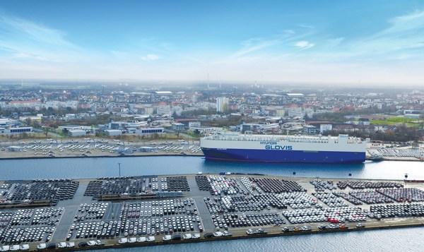 Hyundai Glovis建立世界首个电动汽车专门海运解决方案