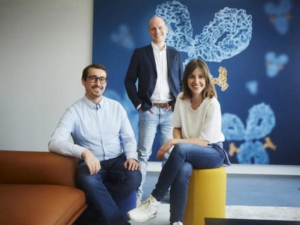 GoSilico联合创始人Tobias Hahn博士, Thiemo Huuk博士,Teresa Baumann博士
