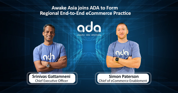Awake Asia Merges with ADA to Unleash End-to-End eCommerce in Southeast Asia