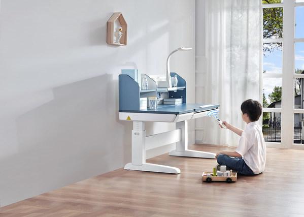 护童吉象学习桌4.0上市:学习桌迈入极速电动升降时代
