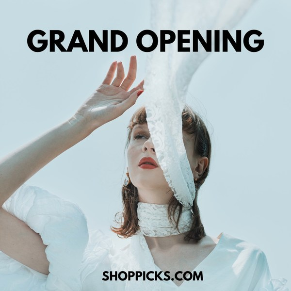 快閃名牌時裝購物網站 SHOPPICKS 正式開幕 開幕期間23/6-2/7 全店免運費