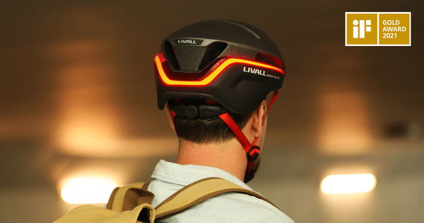 LIVALL EVO21: The iF GOLD Award Winner Prevailing on Indiegogo Now