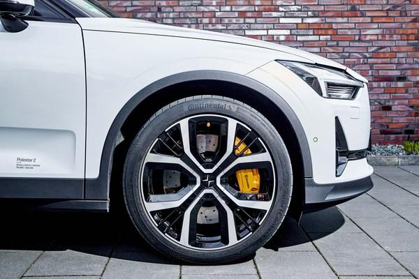 在欧洲,超过40%的电动汽车和轻客车型选择德国马牌作为原配轮胎