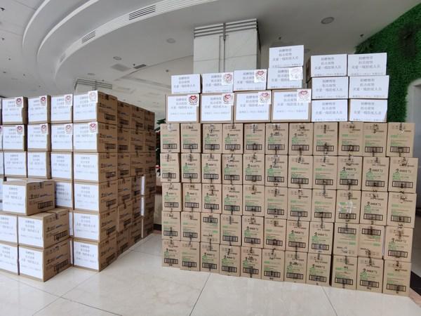 十万物资增援广东 好来公司倾力防疫抗疫