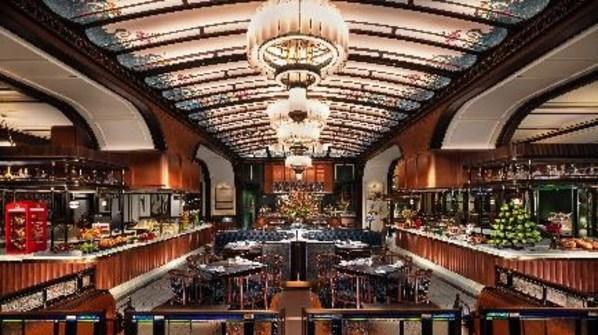 邱吉爾餐廳主要用餐區