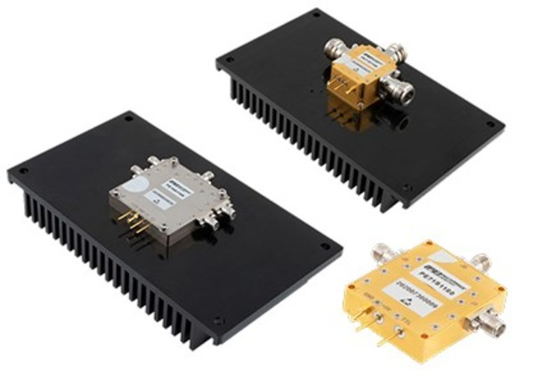 Pasternack Unveils New High-Power RF and Microwave PIN Diode Coaxial Packaged Switches