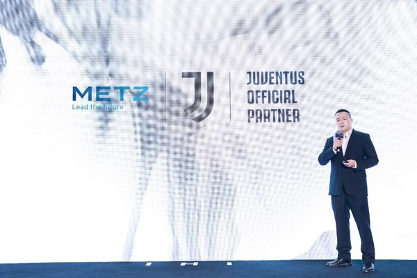 METZ blue Announces Brand Partnership with World-leading Football Club Juventus to Support its Global Expansion Plan