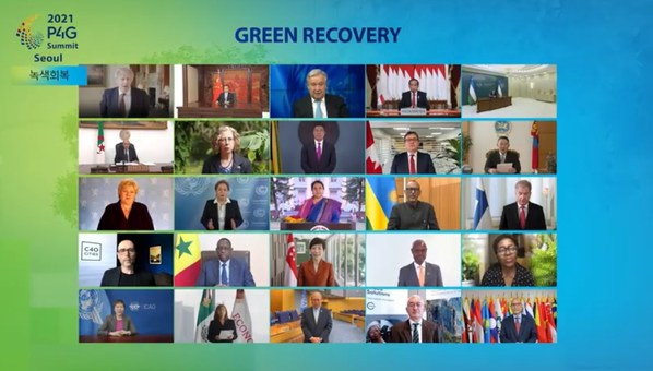 P4G Seoul Summit unites world leaders for inclusive green recovery, serves as stepping stone for next climate COP