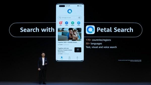 Petal Search mang lại trải nghiệm tìm kiếm trực quan và phù hợp cho người dùng