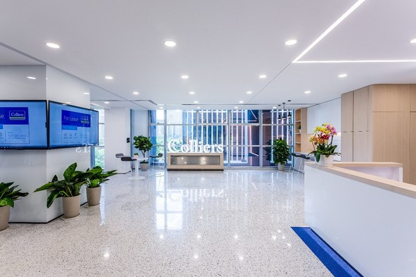 高力国际华北总部新办公室