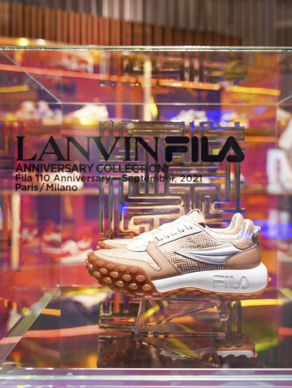 FILA x LANVIN联乘系列鞋款GARA