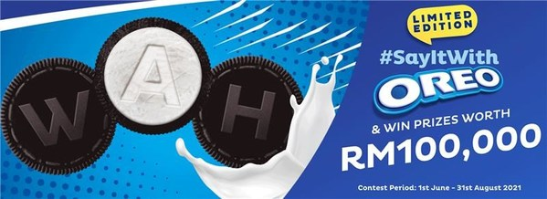 OREO invites Malaysians to express themselves with OREO cookies, now embossed with letters and emojis to make every moment playful
