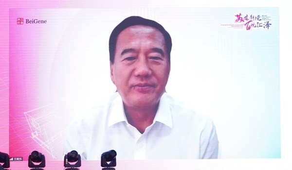 百济神州创始人,科学顾问委员会主席王晓东博士