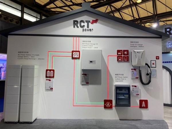阿诗特能源(RCT Power)光储充一体化解决方案亮相SNEC
